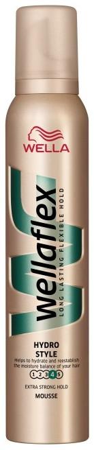 Fotografie Wellaflex Hydro Style extra silné zpevnění pěnové tužidlo 200 ml