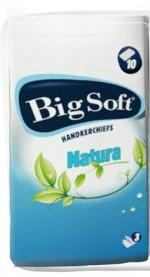 Fotografie Big Soft Natura papírové kapesníky 1 kus