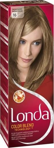 Fotografie Londa Color Blend Technology barva na vlasy 16 středně plavá