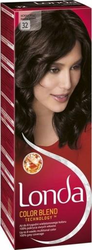 Fotografie Londa Color Blend Technology barva na vlasy 32 moka hnědá