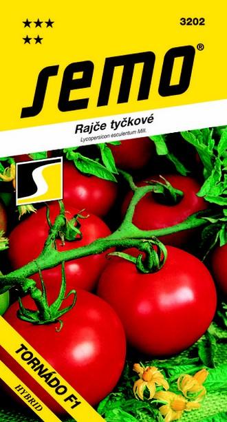 Semo Rajče tyčkové Tornádo F1 50 semen