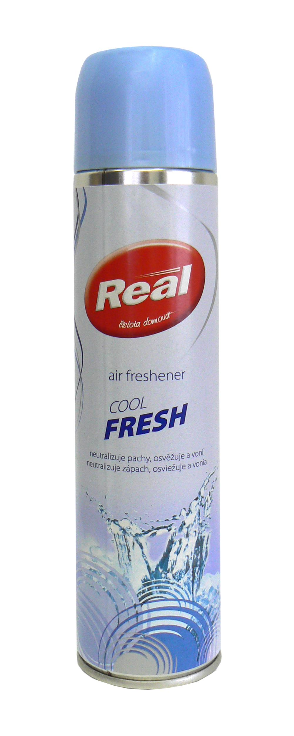 Fotografie Real Fresh Cool Fresh osvěžovač vzduchu sprej 300 ml