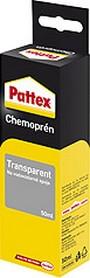 Fotografie Pattex Chemoprén Transparent lepidlo na vodovzdorné spoje kombinace materiálů 50 ml v krabičce