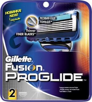Fotografie Gillette Fusion Proglide náhradní břity 2 ks