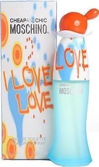 Fotografie Moschino I Love Love toaletní voda pro ženy 30 ml