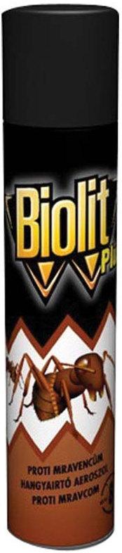 Fotografie Biolit Plus 007 Proti mravencům sprej 400 ml