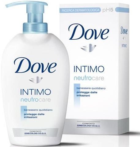 Dove Intimo sprchový gel pro intimní hygienu 250 ml
