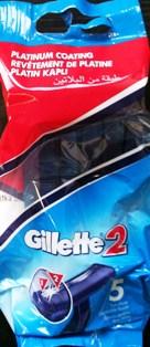 Fotografie Gillette Dvoubřitá pohotová holítka 5 ks