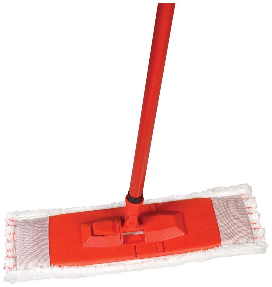 Spokar Úklidová souprava velkoplošná mokrý úklid, plastové těleso, hůl, mop