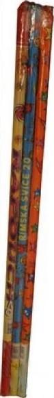 Cracker Římská svíce pyrotecnika 20 světlic 1 kus II. třídy nebezpečí prodejné od 18 let!
