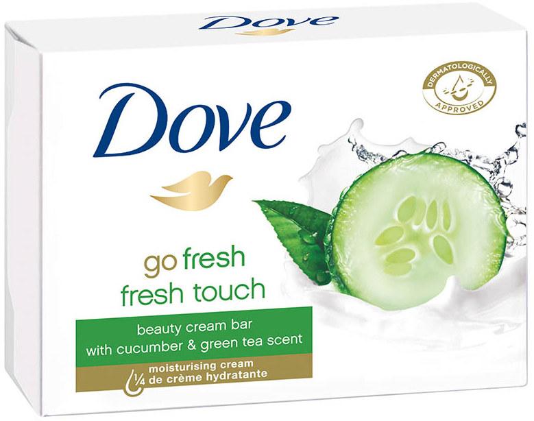 Dove Go Fresh Fresh Touch Okurka & Zelený čaj toaletní mýdlo 100 g