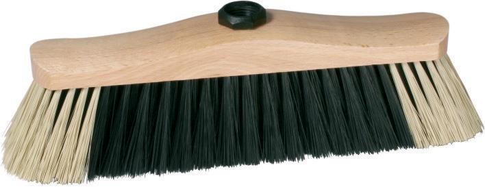 Spokar Smeták na hůl dřevěné lakované těleso se závitem 5111/Z/613