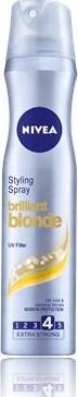 Nivea Brilliant Blonde pro blond vlasy lak na vlasy 250 ml