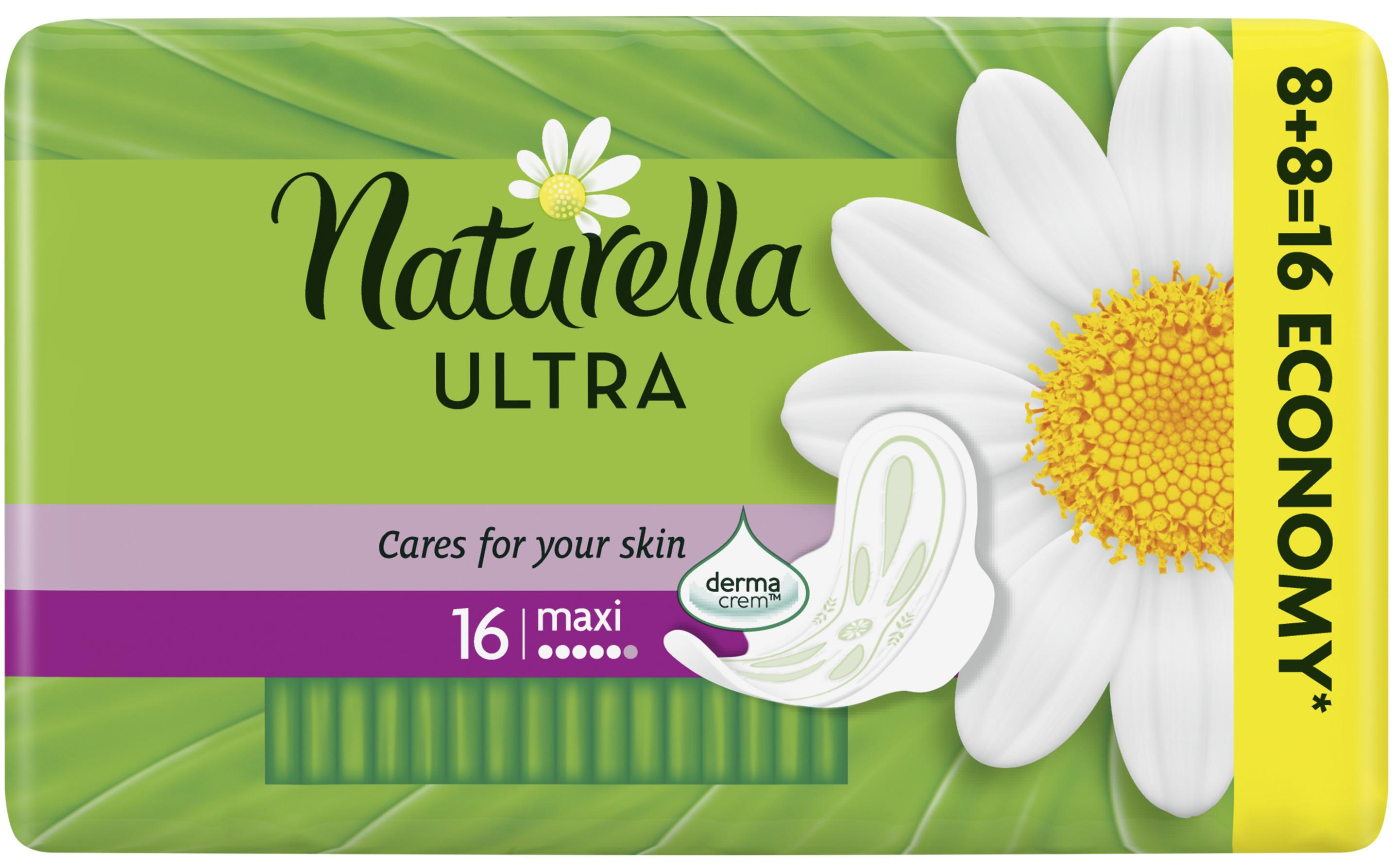 Fotografie Naturella Ultra Maxi intimní vložky 16 ks