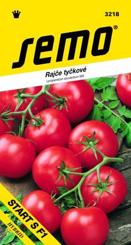Semo Rajče tyčkové Start S F1 hybrid 60 semen