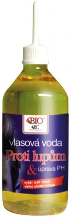 Fotografie Bione Cosmetics proti lupům masážní vlasová voda 220 ml