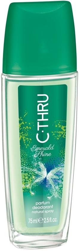 C-Thru Emerald Shine parfémovaný deodorant sklo pro ženy 75 ml