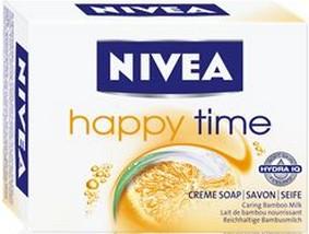 Fotografie Nivea Happy Time toaletní tuhé mýdlo 100 g