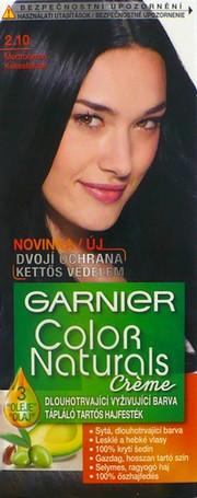 Fotografie Garnier Color Naturals Crème dlouhotrvající vyživující barva modročerná 2.10
