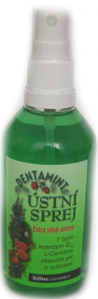 Fotografie Bione Cosmetics Dentamint ústní sprej 115 ml