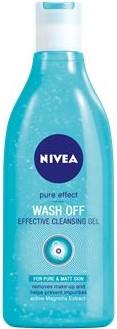 Nivea Visage Pure Effect Wash Off jemný čistící gel 200 ml