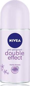 Fotografie Nivea Double Effect kuličkový antiperspirant 50 ml