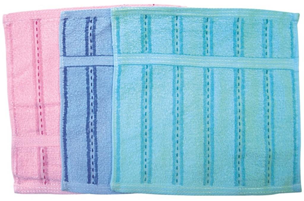 Fotografie Abella Šáteček froté vzorovaný 28 x 28 cm 1 kus