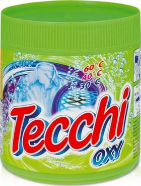 Tecchi Oxy odstraňovač skvrn s aktivním kyslíkem pro bílé i barevné prádlo 500 g