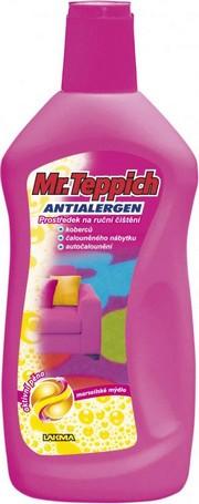 Fotografie Mr. Teppich Ruční čištění koberců s vůní Marseillské mýdlo 500 ml