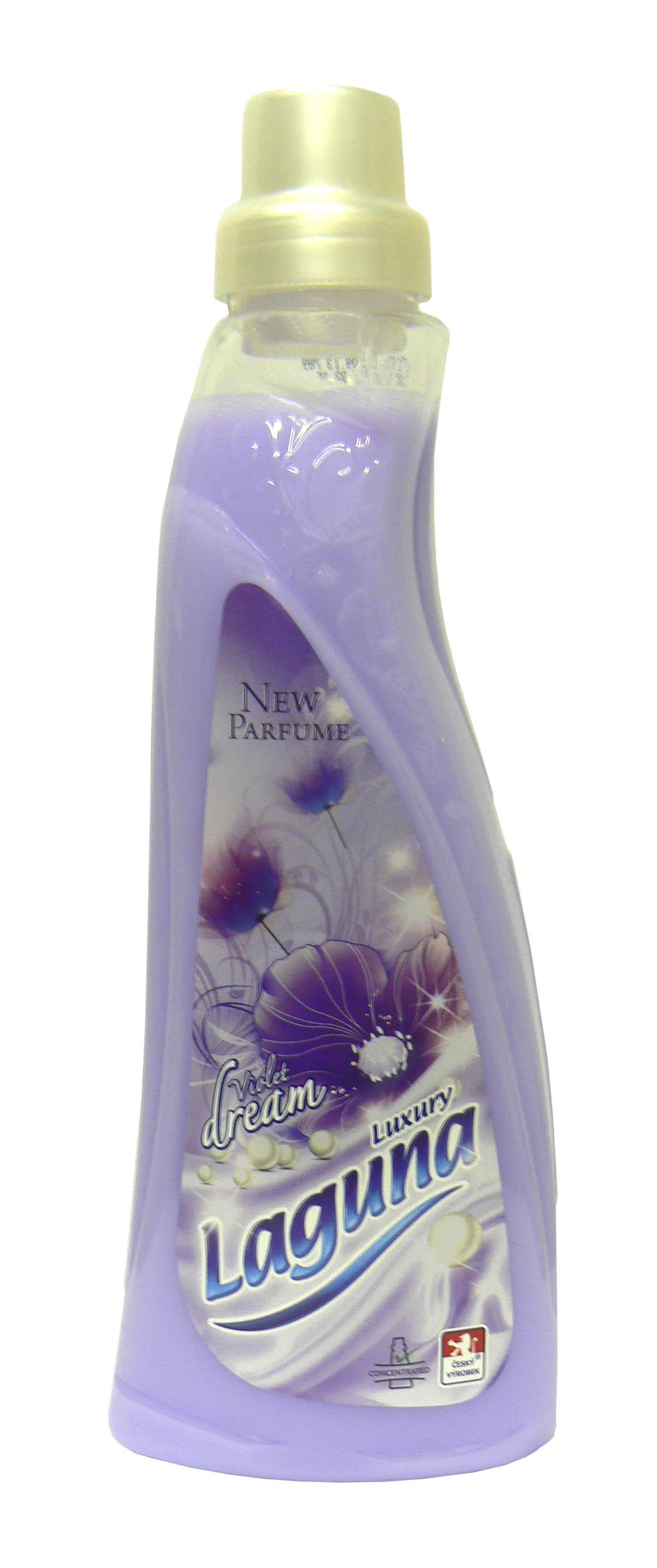Laguna Luxury Touch Avivážní prostředek s vůní orchidejí a fialek 1 l