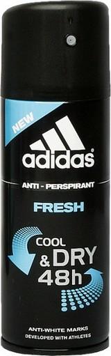 Fotografie Adidas Cool & Dry 48h Fresh antiperspirant deodorant sprej pro muže 150 ml