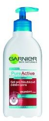 Fotografie Garnier Skin Naturals Pure Active gel pro intenzivní čištění pórů 200 ml