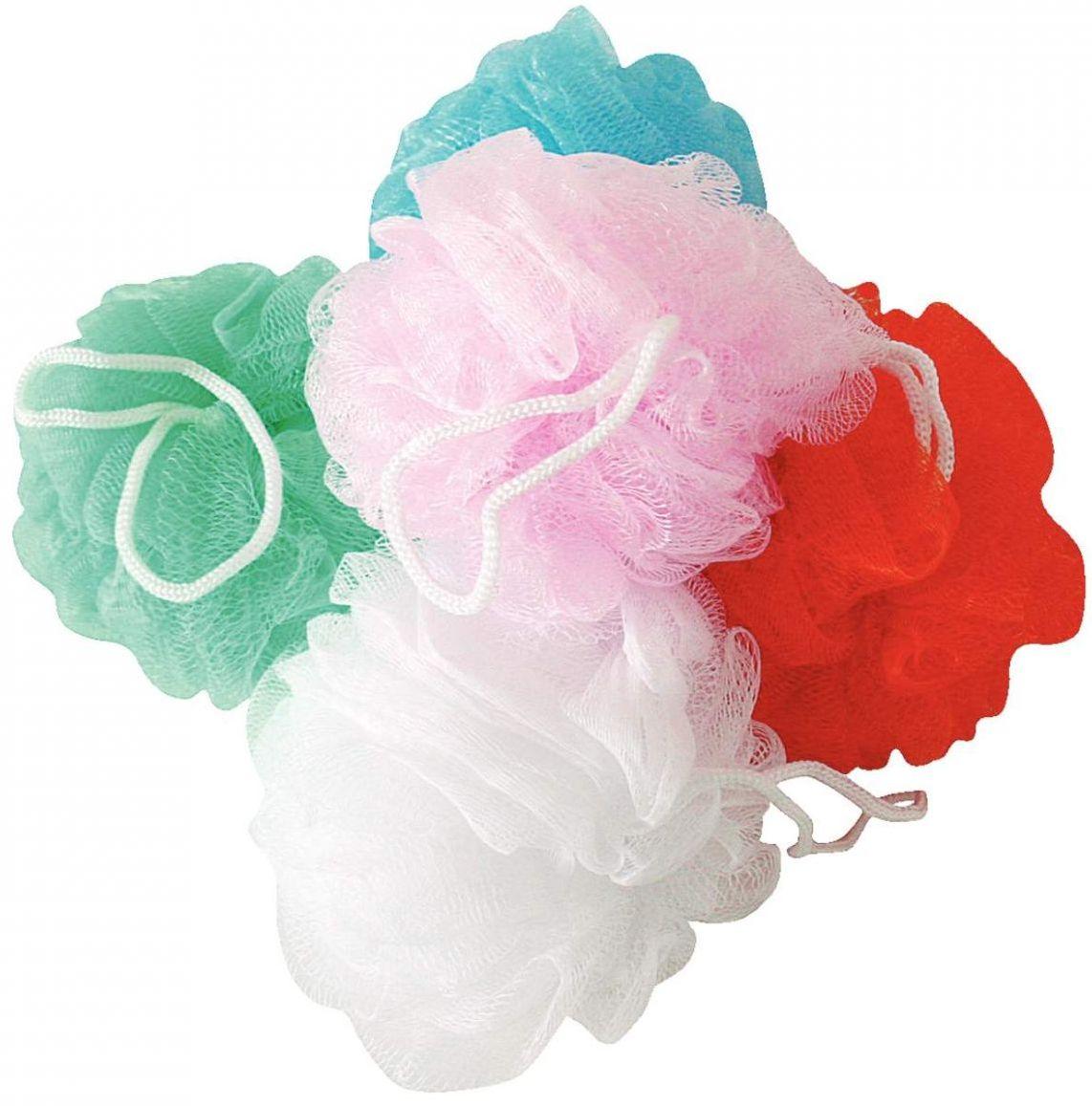 Fotografie Calypso Passion květina koupelová houba různé barvy 1 kus