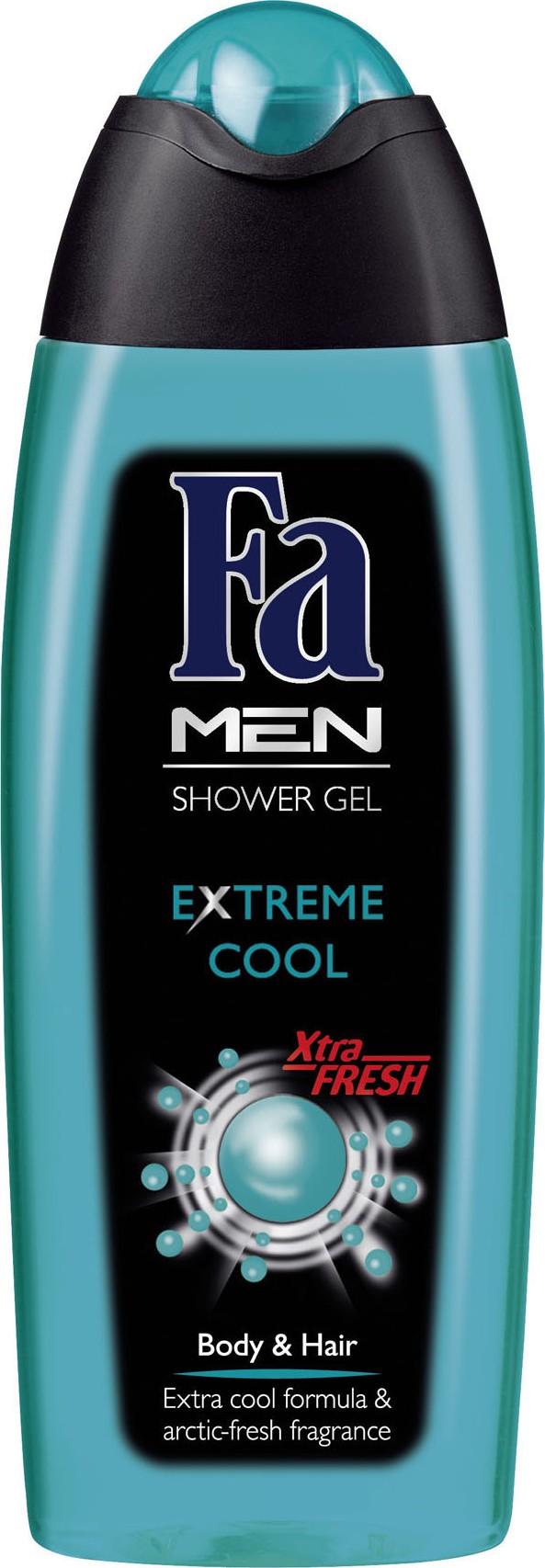 Fotografie Fa Men Extreme Cool sprchový gel pro muže 250 ml