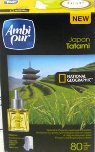 Fotografie Ambi Pur Japan Tatami elektrický osvěžovač vzduchu náhradní náplň 18 ml