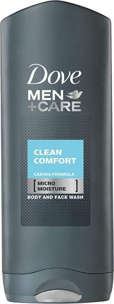 Fotografie Dove Sprchový gel Men+Care Clean Comfort (Body And Face Wash) 250 ml