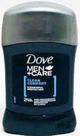 Dove Men + Care Clean Comfort antiperspirant deodorant stick pro muže 50 ml