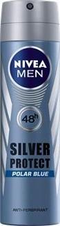 Nivea Men Silver Protect Polar Blue antiperspirant deodorant sprej pro muže 150 ml
