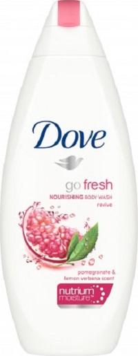 Fotografie Dove Go Fresh Revive Granátové jablko & Verbena sprchový gel 250 ml