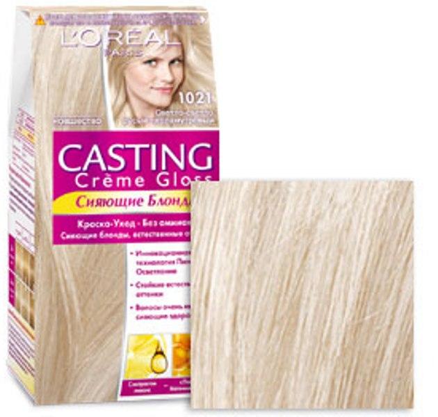 Fotografie Loreal Paris Casting Creme Gloss barva na vlasy 1021 kokosová pusinka