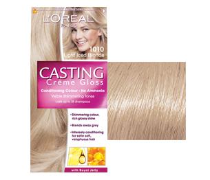 Fotografie Loreal Paris Casting Creme Gloss barva na vlasy 1010 marcipánová
