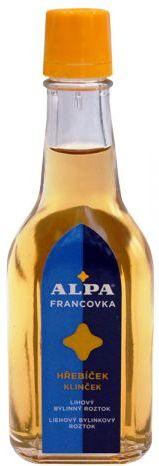 Alpa Francovka Hřebíček lihový bylinný roztok 60 ml