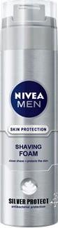 Nivea for Men Silver Protect pěna na holení pro muže 200 ml