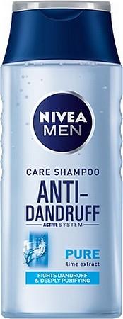 Fotografie Nivea Men Pure Anti-Dandruff šampon proti lupům 250 ml