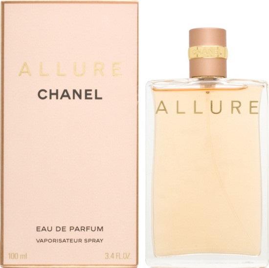 Fotografie Chanel Allure parfémovaná voda pro ženy 100 ml s rozprašovačem
