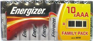 Energizer Family Pack baterie AAA LR03 1,5V 10 ks