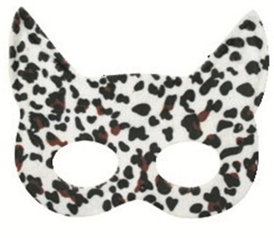 Plesová škraboška kočka tygrovaná 19 cm