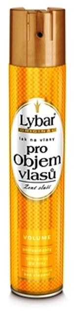 Fotografie Lybar Silně tužící pro Objem vlasů lak na vlasy 400 ml