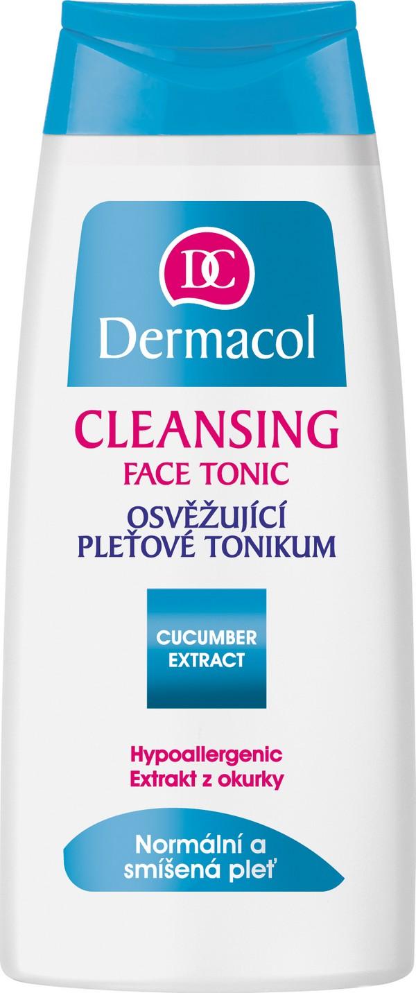 Dermacol Cleansing Face Tonic osvěžující pleťové tonikum 200 ml