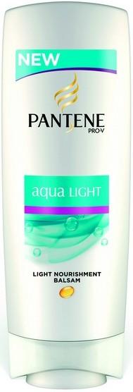Fotografie Pantene Aqua Light balzám pro jemné a mastné vlasy 200 ml